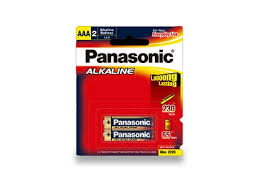 PANASONIC AAA BATTERY 2-pack