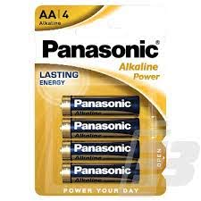 PANASONIC AA BATTERY 4-pack