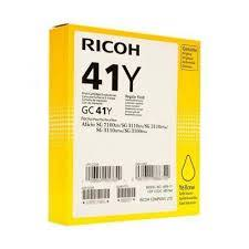 Ricoh GC41Y Yellow Cartridge