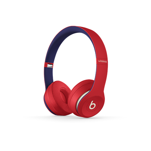Beats Solo3 Wireless Headphones Club Collection Red