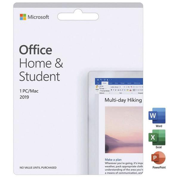 Microsoft Office Home and Student 2019 - 1 PC/Mac (one-time purchase)