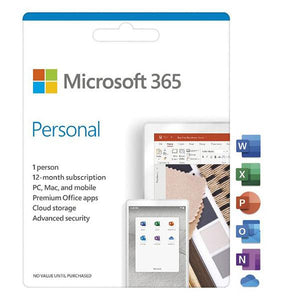 Microsoft 365 Personal 1 Year Subscription