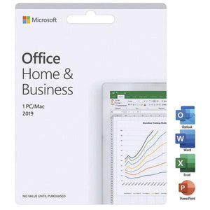 Microsoft Office Home and Business 2019 - 1 PC/Mac (one-time purchase)