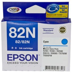 Epson 82N Cyan Ink Cartridge