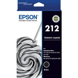 Epson 212 Black Ink Cartridge