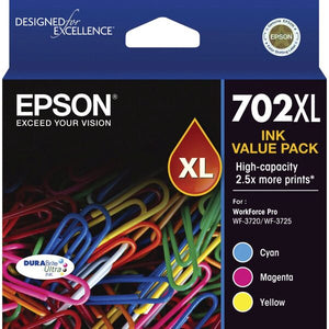 Epson 702XL CMY Value Pack