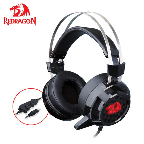 Redragon 7.1 Channel Surround Stereo Gaming Headset - techessentialstoday