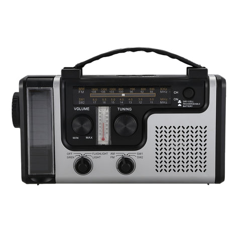 Outdoor Multifunctional Solar Radio Portable FM/AM - techessentialstoday