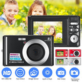 21MP HD Digital Camera Anti-Shake Face Detection Camcorder Max 21 MP 8X Digital Zoom Video Camera