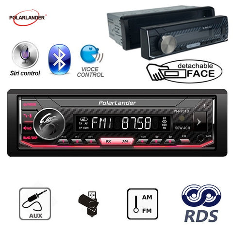 Detachable RDS Car Radio - techessentialstoday