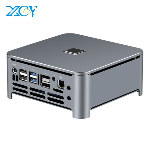 XCY Mini PC Computer Intel Core i7 9850H i9 9880H Processor