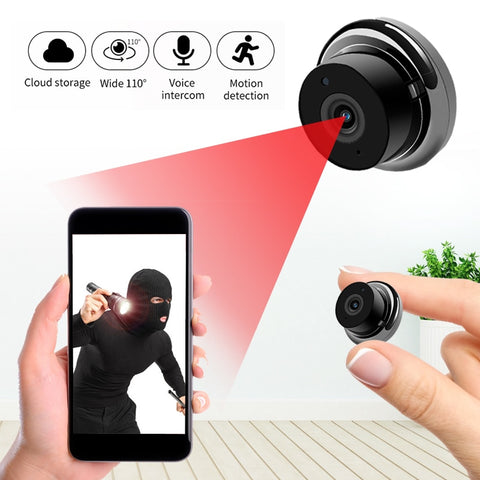 1080P Wireless Mini WiFi Camera  IP Home Security camera IR Night Vision Motion Detect Baby Monitor P2P  CCTV Surveillance - techessentialstoday