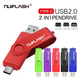 Full Colorful TypeC 2.0 USB Flash Drive - techessentialstoday