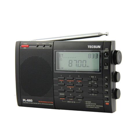 Tecsun PL-660 Portable Stereo Radio - techessentialstoday