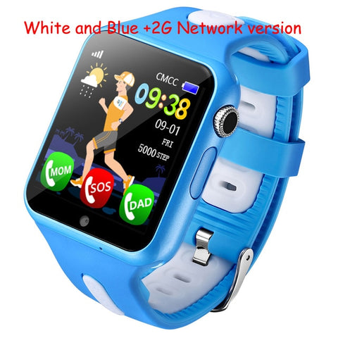 Smart GPS Wifi Location Student Kids Phone Watch - techessentialstoday