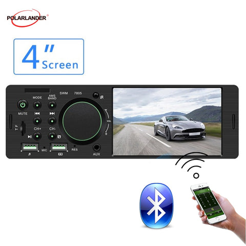 Car Stereo Car Radio 1 din Radio - techessentialstoday