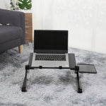 Adjustable Aluminum Laptop Desk Ergonomic Computer Desk