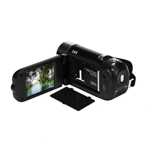 EastVita HD 1080P 16M 16X Digital Zoom Video Camcorder TPT LCD Camera DV Home Camera r20 - techessentialstoday