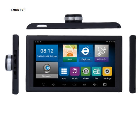 9 inch Android Car Truck GPS Navigation 8GB 16GB DVR Video recorder Tablet  AV-IN support reversing camera  with free Maps