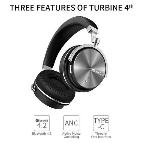 Bluedio T4 active noise cancelling wireless bluetooth headphones - techessentialstoday