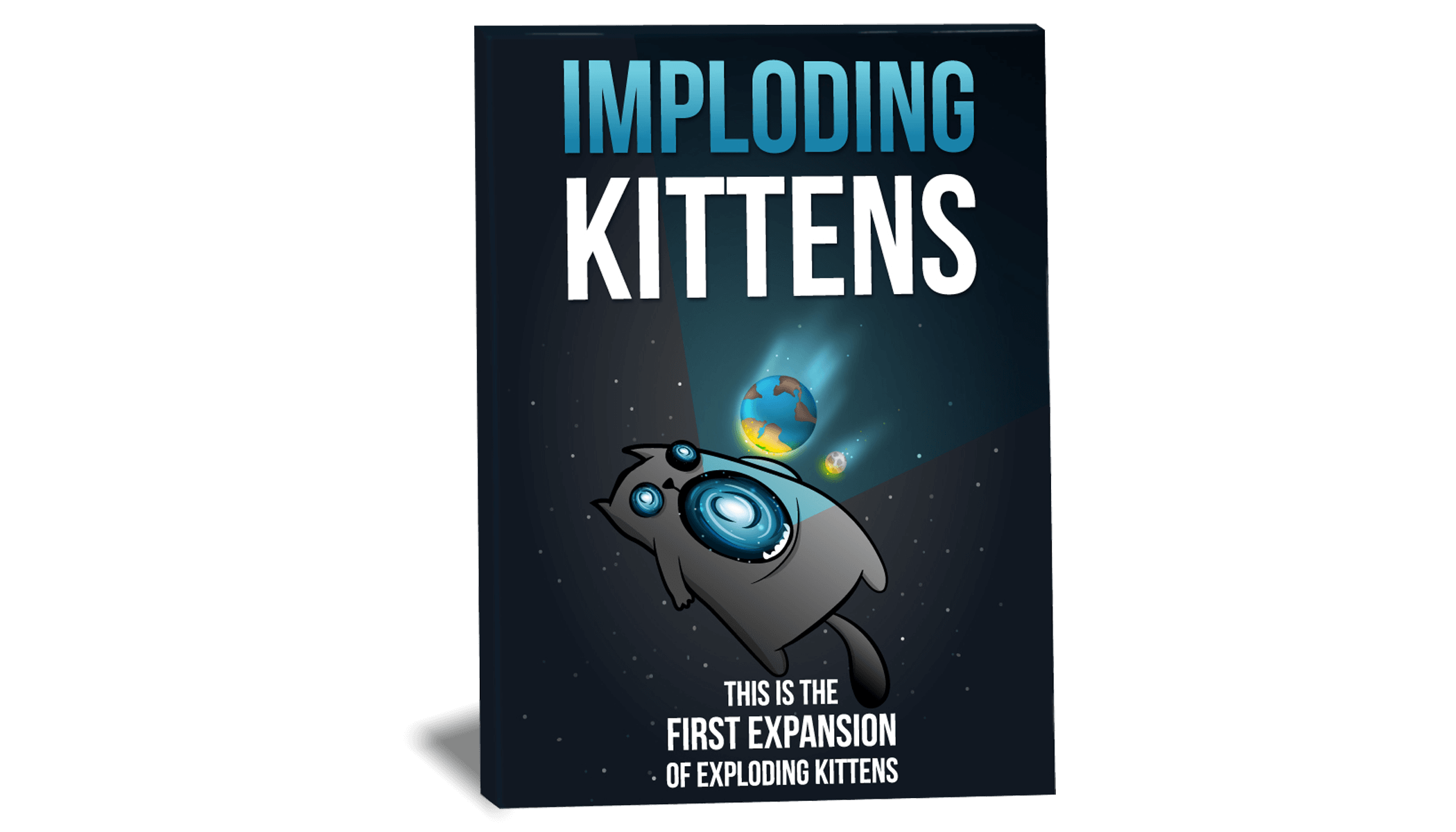 Imploding Kittens This is The First Expansion of Exploding Kittens /& Streaking
