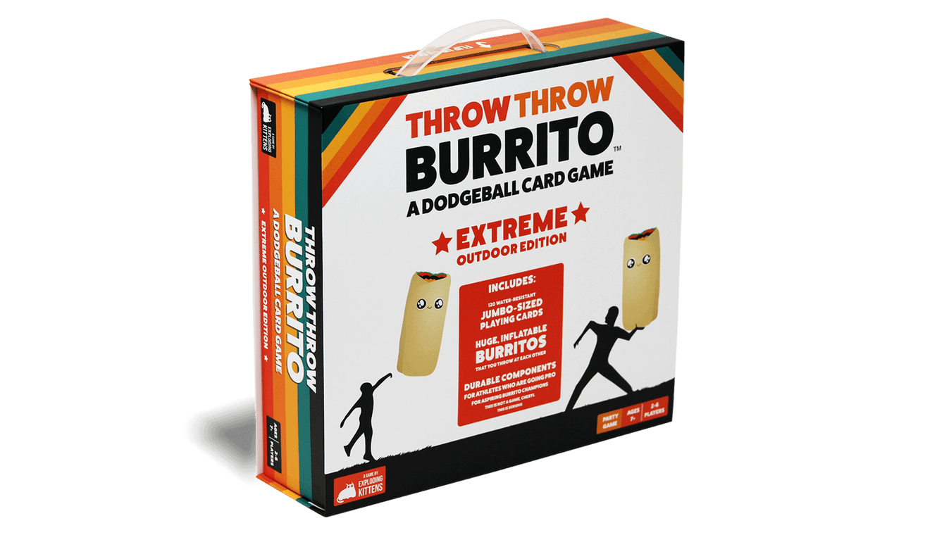 THROW THROW BURRITO: Extreme Outdoor Edition