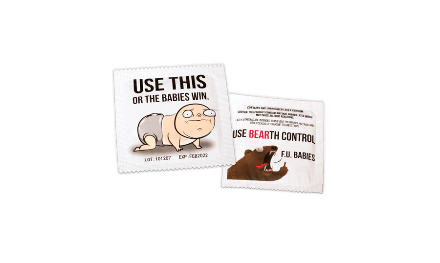 Bears vs Babies NSFW Expansion Condom
