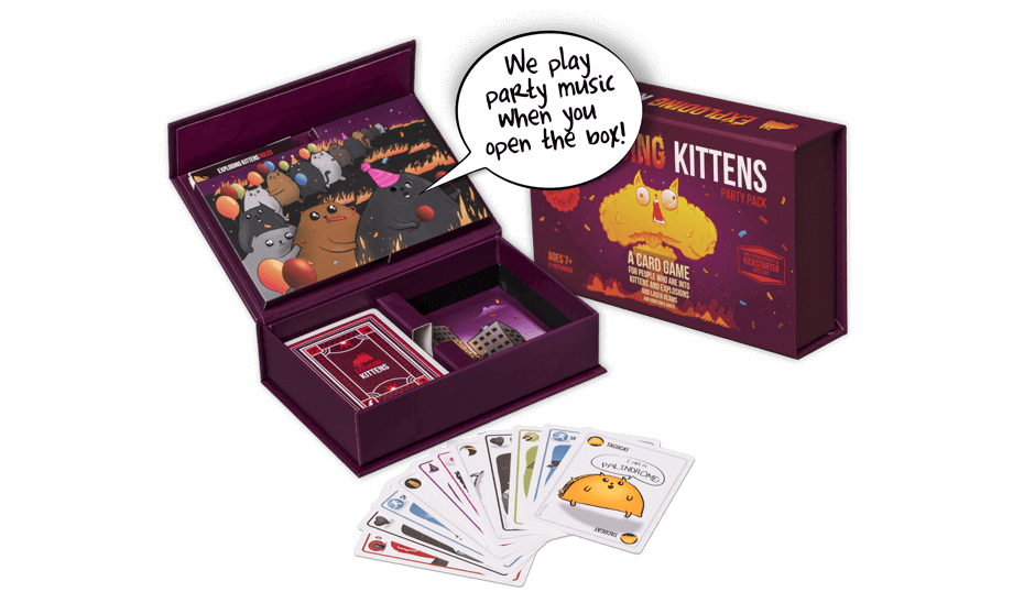 EXPLODING KITTENS: Party Pack Edition