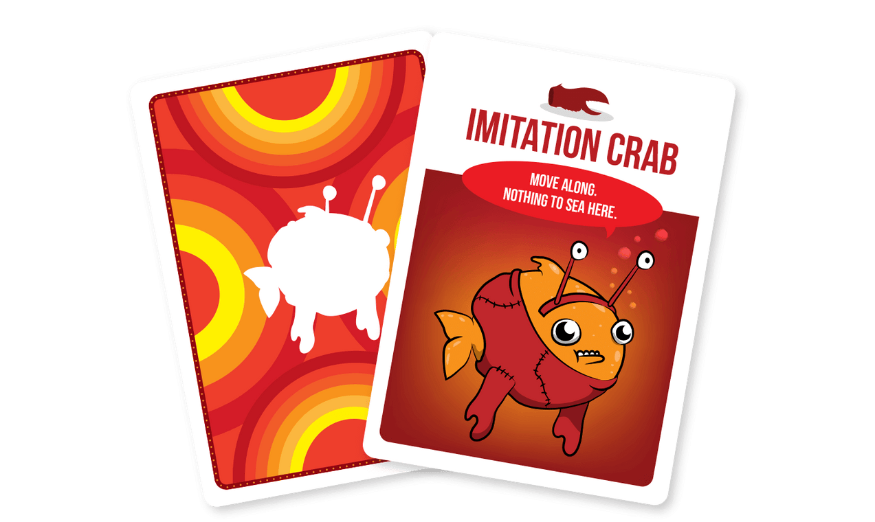 YOU'VE GOT CRABS WITH FREE IMITATION CRAB BUNDLE