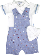 Boys Sailboat 3-Piece Set
