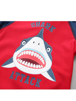 Boys Shark Attack Swimsuit Set