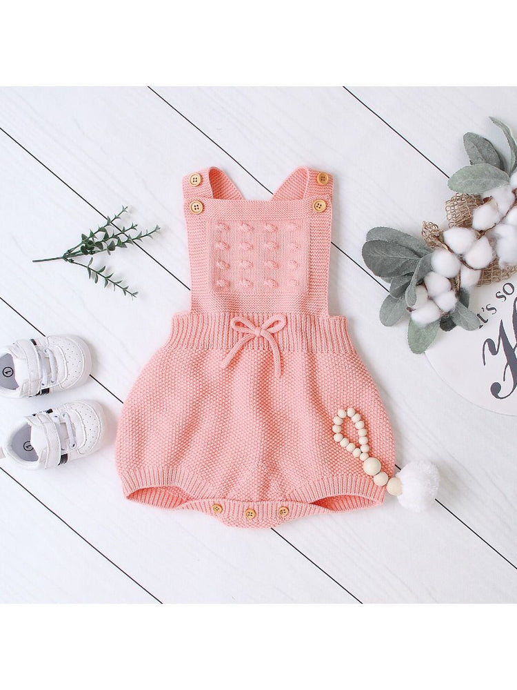 Girls Crochet Romper