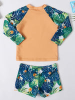 Boys Tropical 2-Piece Swim Set