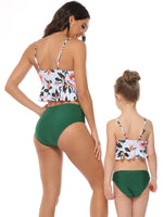 Tropical Flowers Mommy and Me Swim Sets