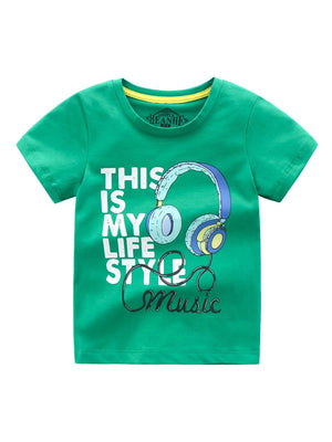 Boys Music T-Shirt