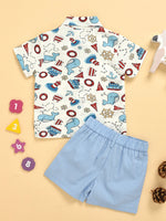 Boys Nautical 2-Piece Set