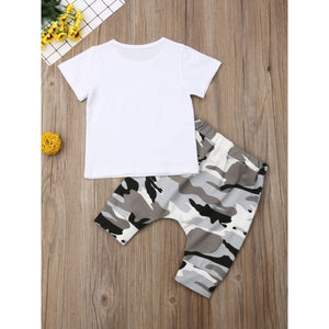 Boys Camo 2-Piece Set