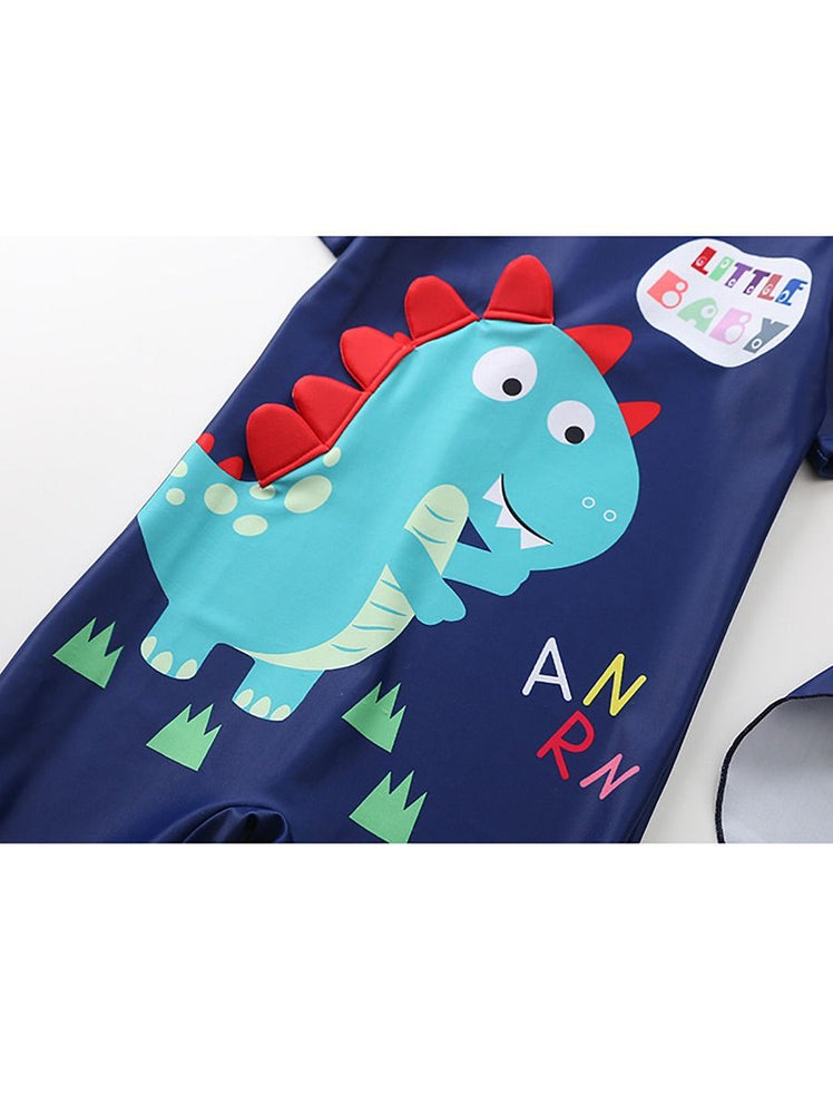 Boys Dino Swimsuit Set