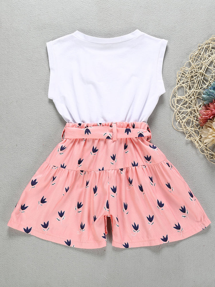 Girls Fashion Jumpsuit