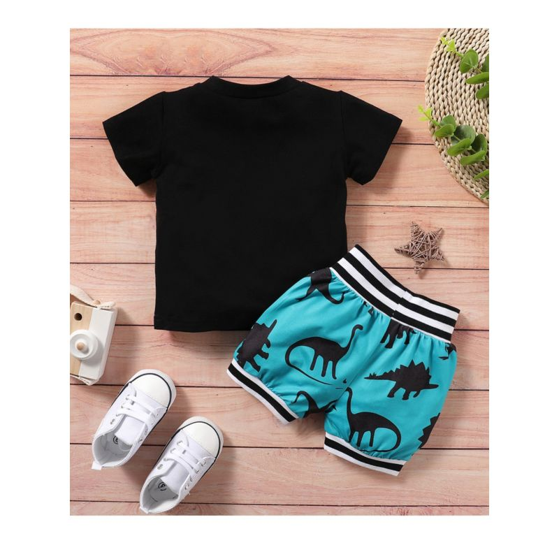 Baby Boys Dinosaur 2-Piece Set