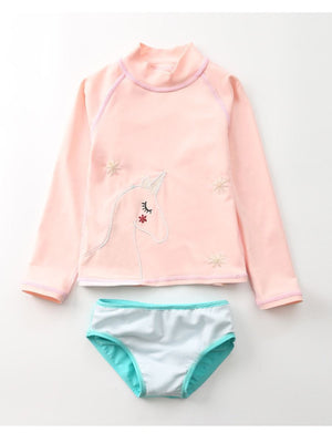Girls Unicorn Magic Swim Set