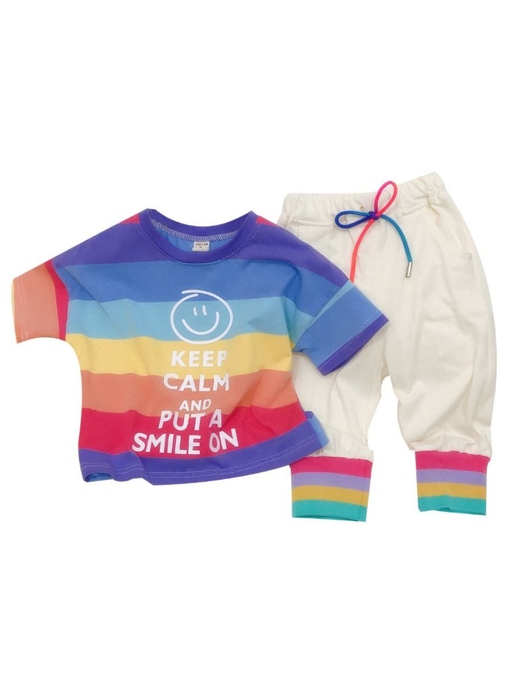 Boys Smile On 2-Piece Set