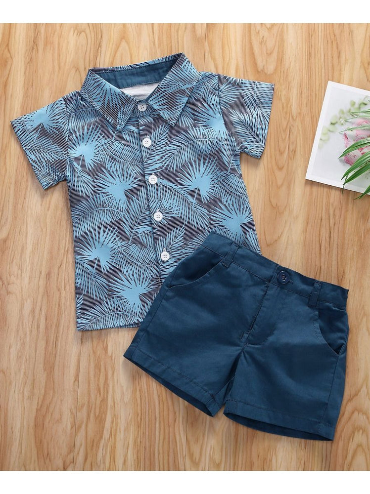 Boys Tropical 2-Piece Set