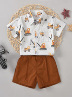 Boys Construction 2-Piece Set
