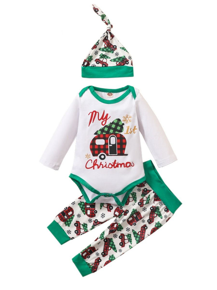 Boys First Christmas 3-Piece Set