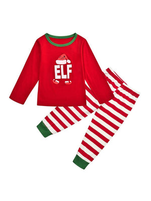 What the Elf Family Pajamas