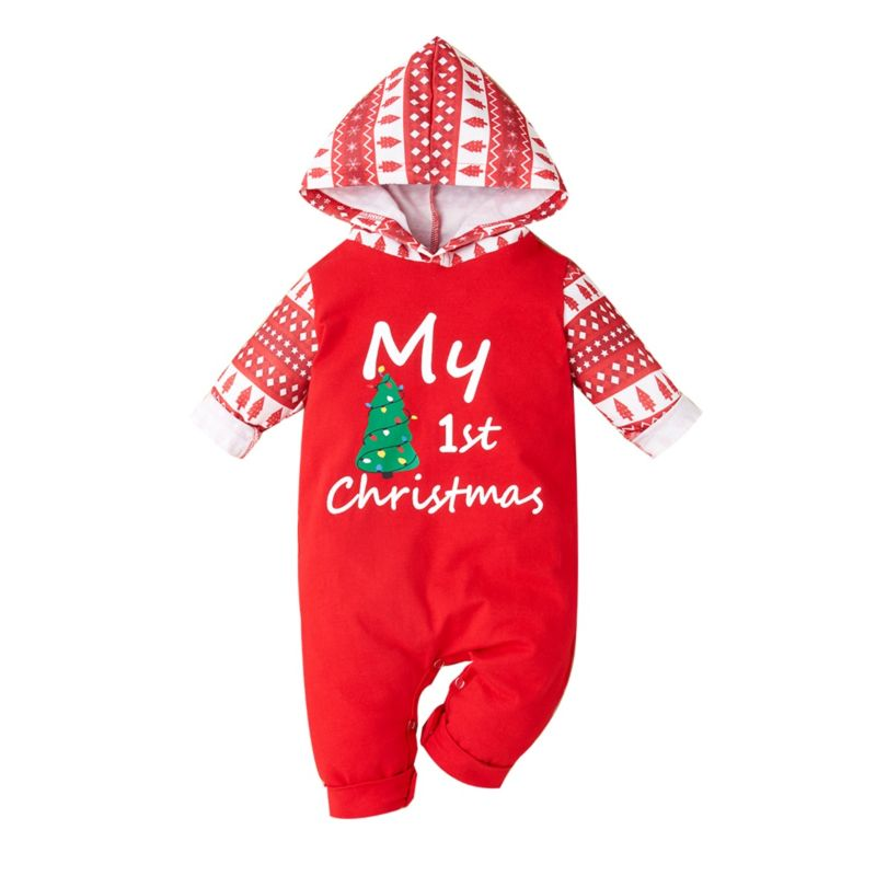 Boys First Christmas Jumpsuit