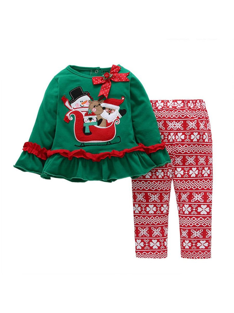 Girls Sleigh Ride 2-Piece Set