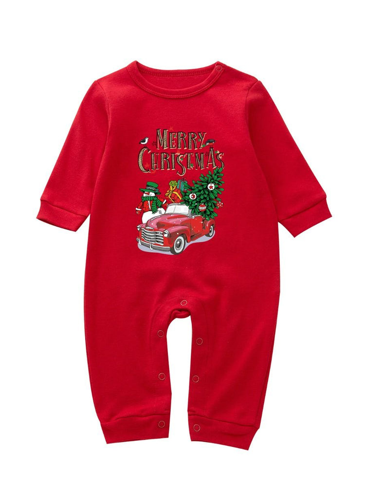 Merry Christmas Family Pajamas