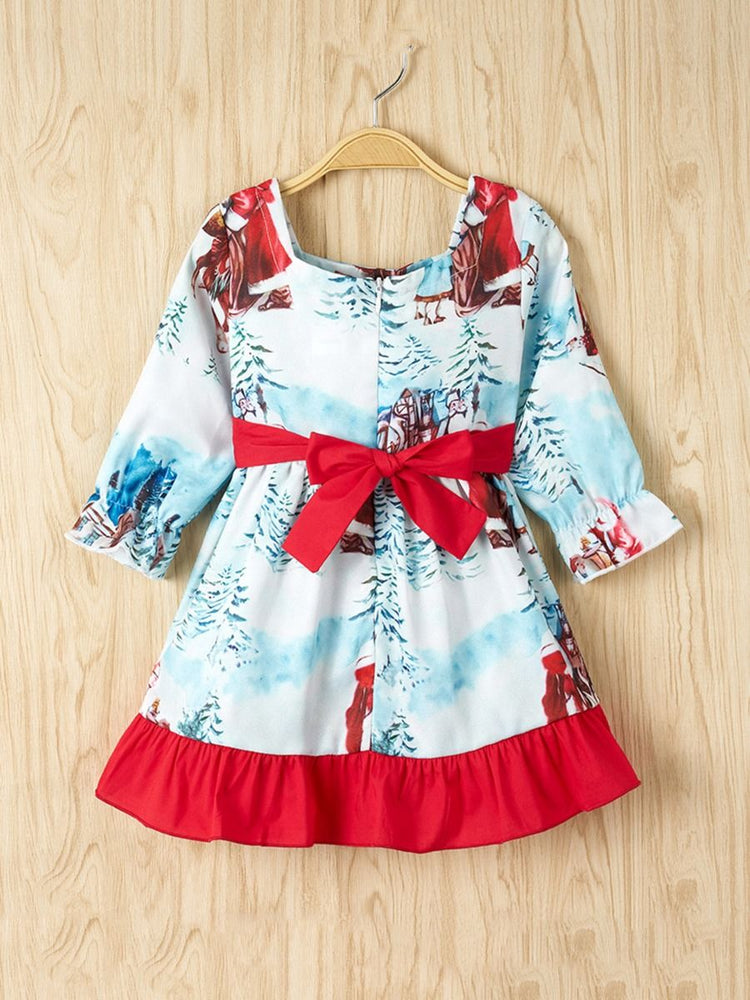 Girls Santa Claus Dress